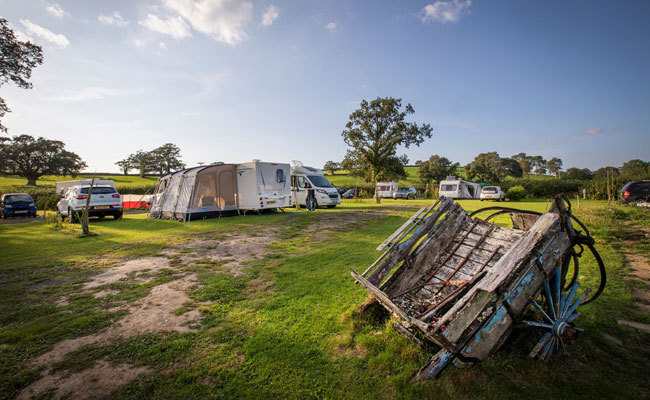 Caravan and Motorhome Pitches Carmarthenshire